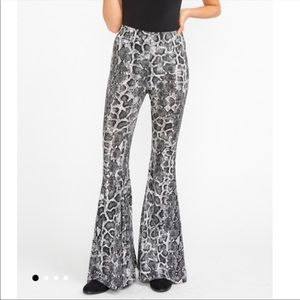 Show Me Your Mumu Snakeskin Pants